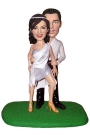 Sexy Dancing Couple Bobblehead
