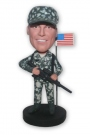 Soldier With Rifle Bobblehead