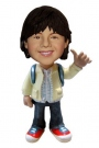 Thumbs-up School Boy Bobblehead