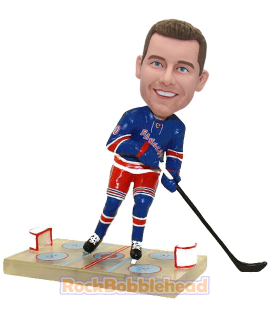 Hockey Fans Custom Bobblehead - Click Image to Close