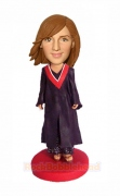Female Graduation Bobblehead