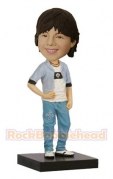 Casual Boy With Jeans Bobblehead