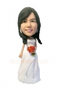 Bridesmaid Custom Bobblehead 2