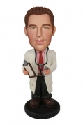 Professional Male Doctor Bobblehead