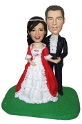 Wedding Couple Custom Bobblehead 3