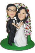 Wedding Couple Custom Bobblehead 4