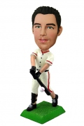 Baseball Player Swinging the Bat Bobblehead