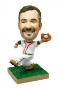 Baseball Catching Player Bobblehead