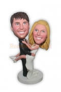Bride Jump on Groom Bobblehead