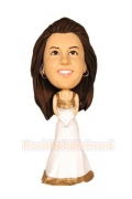 Bridesmaid Custom Bobblehead 1