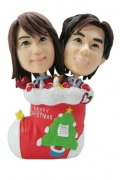 Christmas Couple Bobblehead