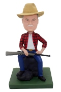 Cowboy with Gun Custom Bobblehead