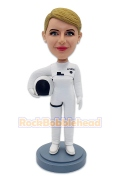 Female Astronaut Custom Bobblehead