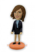 Female Card holder Professional Bobblehead
