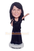 Female Singer Custom Bobblhead