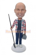 Go Out for Fishing Bobblehead