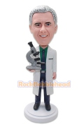 Laboratory Staff Custom Bobblehead