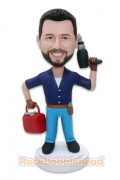 Maintenance Engineer Personalized Bobblehead
