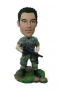 Super Agent Custom Bobblehead Doll