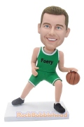 Man Playing Basketball Custom Bobblehead