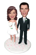 Wedding Couple Custom Bobblehead 2