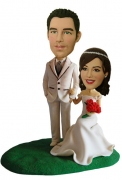Wedding Couple Custom Bobblehead 1