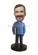 The Best Teacher Custom Bobblehead