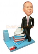Business Card Holder Bobblehead
