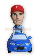 Casual Guy In The Car Bobblehead