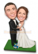 Wedding Couple Custom Bobblehead 5