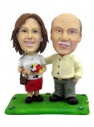 Casual Couple Bobblehead