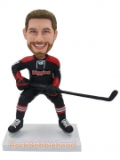 Hockey Player Personalized Bobblehead