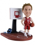 Basketball Player Custom Bobblehead 3