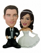Wedding Cake Topper Custom Bobblehead