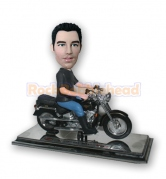 Man on Harley Motor Bobblehead