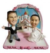 Forever Love Wedding Bobblehead