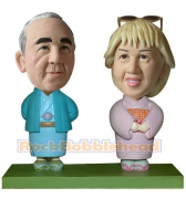 Couple In Kimono Custom Bobblehead