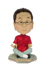 Male Yoga Custom Bobblehead