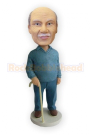 Senior Custom Bobblehead