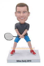 Tennis Player Personalized Bobblehead