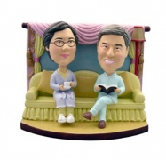 Romantic Family Couple Bobblehead
